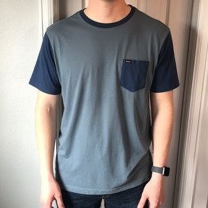 Other - Two-tone RVCA tee